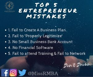 Top 5 Mistakes Entrepreneurs Make (1)