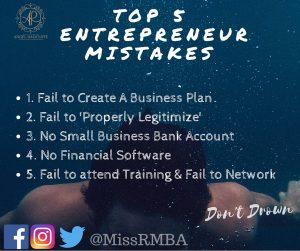 Top 5 Mistakes Entrepreneurs Make (1)